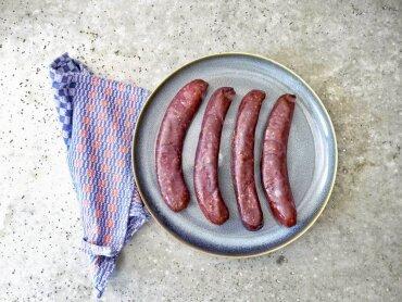 Rinderkochwurst 120 gr. (4 Stck.)