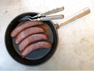 Wellwurst dunkel (4 Stück)